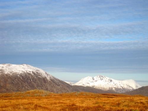 Benn na Caillich, from the plateau on Sgurr Coire na Coinnichean (c) JP Mundy 2012