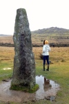 Merrivale Standing Stone (menhir),Dartmoor