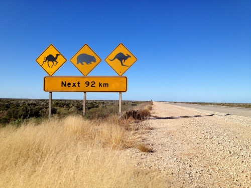 Across the Nullabor