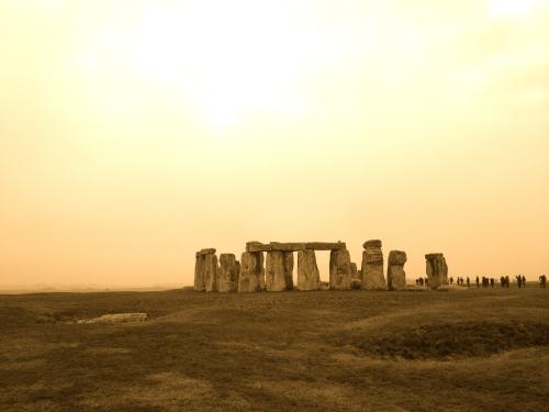Stonehenge in mid-winter (c) JP Mundy 2015