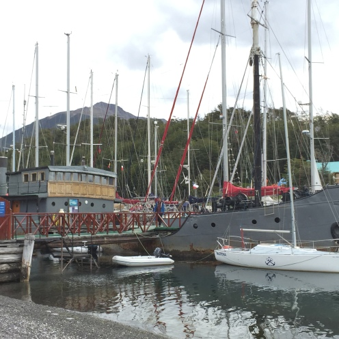 Puerto Williams Yacht Club - officially the most southerly in the world